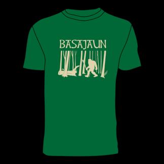 Camiseta BASAJAUN elastikoa